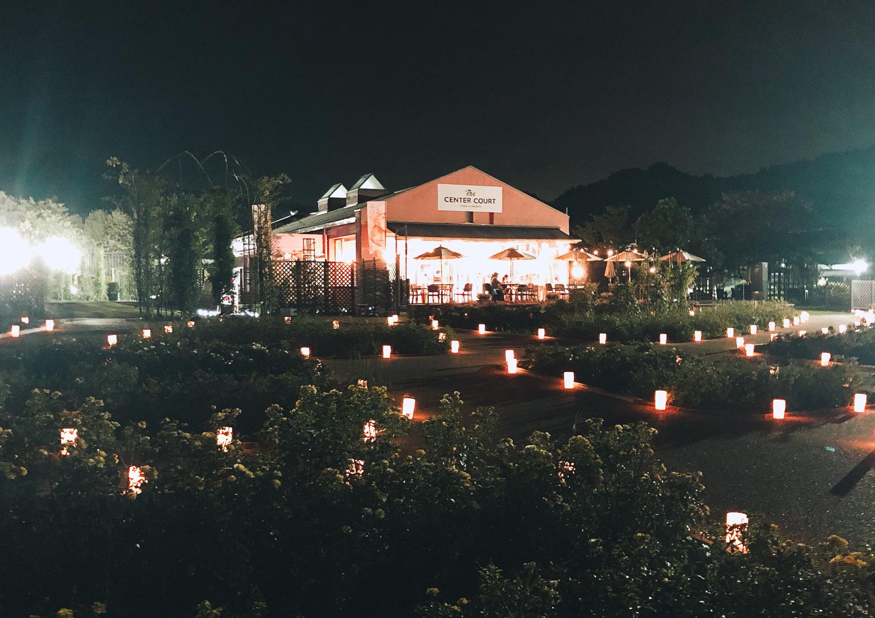 花フェスタ記念公園ザ・センターコート前